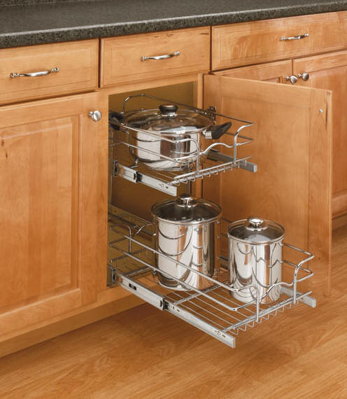 Shelf Depot - Sliding shelves for kitchen cabinets
